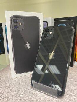 Мобильные телефоны - iPhone 11 Black 128gb б/у Ростест, 0
