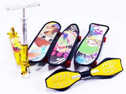 Фигурки и наборы - Фингер набор 3 скейта, самокат, гироборд, 0