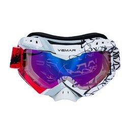 Средства индивидуальной защиты - Очки защитные кроссовые Vemar (Вемар) - 1016C, 0