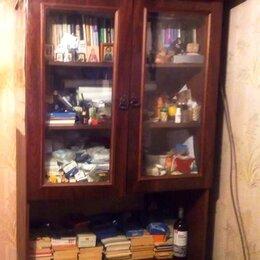 Шкафы, стенки, гарнитуры - Сервант с стеклянными дверцами, 0