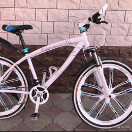 Велосипеды - Велосипед  на литых дисках новый, 0