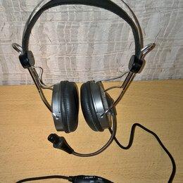 Наушники и Bluetooth-гарнитуры - Наушники мягкие с микрофоном, GENIUS для компьютера, проводные. НОВЫЕ., 0