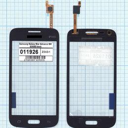 Дисплеи и тачскрины - Тачскрин, стекло для Samsung Galaxy Star Advance SM G350E black, Диагональ 4.3, , 0