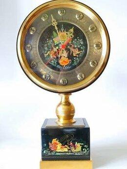 Часы настольные и каминные - Часы интерьерные, Мстера роспись, 0