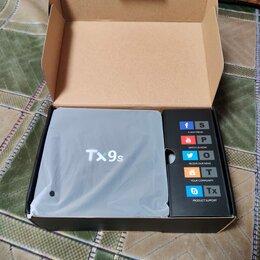 DVD и Blu-ray плееры - Tanix TX9S 2/8 Amlogic S912 lan 1000 Смарт тв, 0