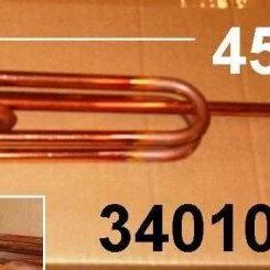 Аксессуары и запчасти - Тэн в/н 2200w-230v RCF 450 RH PA анод-M8 (под флан, 0