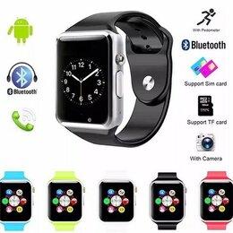 Умные часы и браслеты - Умные смарт часы Smart Watch A1S ( Часы телефон ), 0
