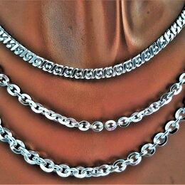 Цепи - Цепи серебро 65 см, родированные, 0