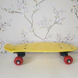 Скейтборды и лонгборды - Пениборд(жёлтый), 0