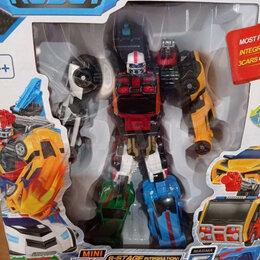 Роботы и трансформеры - Тобот MAGMA 6 машин MINI  , 0