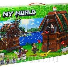 Игровые наборы и фигурки - Конструктор Minecraft My World «Конюшня с мельницей», 0