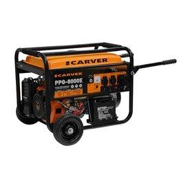 Электрогенераторы и станции - Генератор бензиновый Carver PPG-8000 E, 0