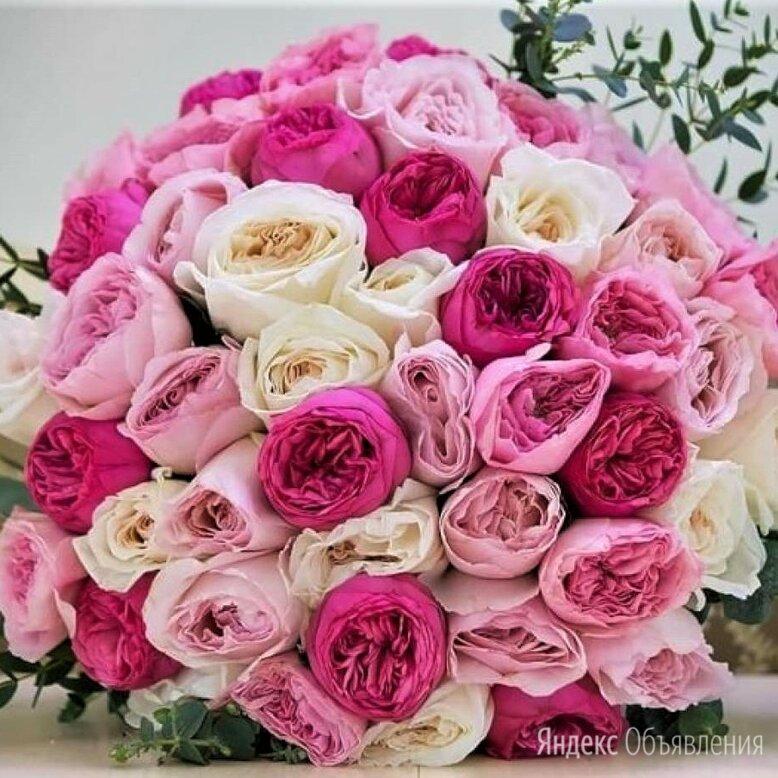 45 роз пионовидных с доставкой №221 по цене 8150₽ - Цветы, букеты, композиции, фото 0