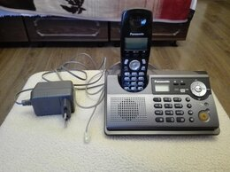 Проводные телефоны - Радиотелефон Panasonic KX-TCD245RU черный, 0