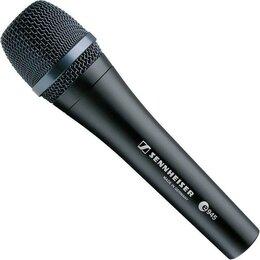 Микрофоны - микрофон сеннхейзер германия e 945, 0
