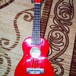 Акустические и классические гитары - Belucci XU23-11, Красный укулеле, 0