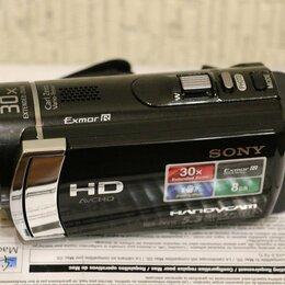 Видеокамеры - Видеокамера Sony HDR CX210E , 0