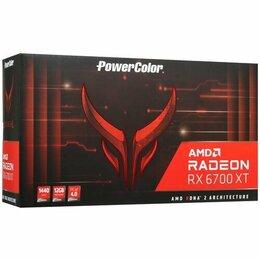 Видеокарты - PowerColor RX 6700XT Red Devil, 0