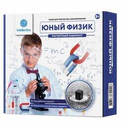 """Наборы для исследований - Набор для экспериментов """"Юный физик. Магнитный…, 0"""