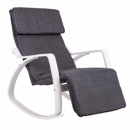 Кресла - Кресло-качалка с подставкой для ног, 0