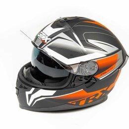 Мотоэкипировка - Шлем мото интеграл GTX 5672 (M) #1 BLACK/RED GREY (2 визора), 0