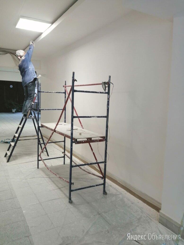 Шпатлёвка стен и потолков по цене 80₽ - Архитектура, строительство и ремонт, фото 0