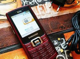 Мобильные телефоны - Samsung GT-C5212 Dark Red Duos ( 2 радио модуля ), 0