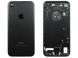 Корпусные детали - Задняя крышка Apple iPhone 7 черный, 0
