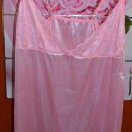 Домашняя одежда - Ночная сорочка розовая, 0