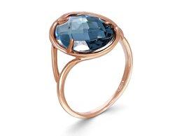 Кольца и перстни - Кольцо с топазом из красного золота, 0