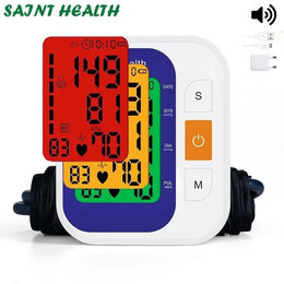 Приборы и аксессуары - Цифровой тонометр Saint Health, 0