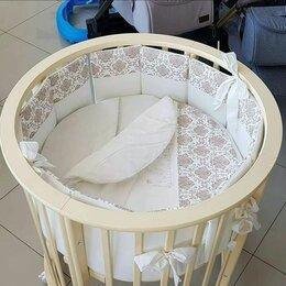 Кроватки - Круглая кровать - трансформер Мой малыш Николь 6…, 0
