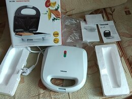 Сэндвичницы и приборы для выпечки - Бутербродница Tristar sandwich toaster SA-2198, 0