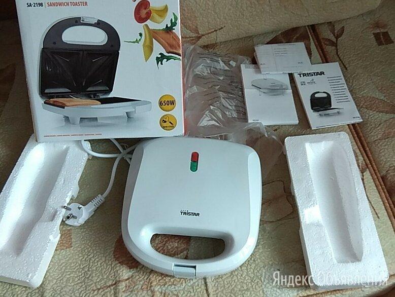 Бутербродница Tristar sandwich toaster SA-2198 по цене 900₽ - Сэндвичницы и приборы для выпечки, фото 0