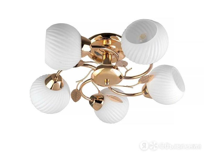 Потолочная люстра Toplight Maria TL3510X-05FG по цене 3657₽ - Люстры и потолочные светильники, фото 0