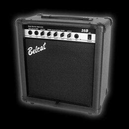 Оборудование для звукозаписывающих студий - Басовый комбоусилитель, 35Вт, Belcat | 35B, 0