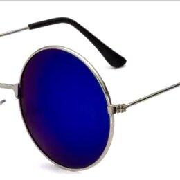 Очки и аксессуары - Солнцезащитные очки Тишейды Круглые Honey Blue Mirror , 0
