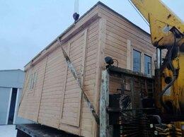 Готовые строения - Бытовка деревянная новая 2 окна А-54, 0