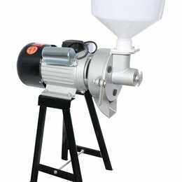 Кухонные комбайны и измельчители - Akita jp ML-MA жерновая электрическая мельница для муки из зерна специй кофе, 0