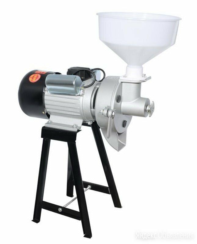 Akita jp ML-MA жерновая электрическая мельница для муки из зерна специй кофе по цене 20990₽ - Кухонные комбайны и измельчители, фото 0