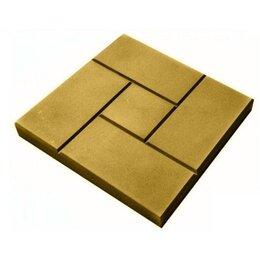 Тротуарная плитка, бордюр - Тротуарная плитка 300*300*30 калифорния гладкая желтая, 0