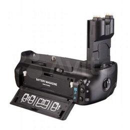 Аккумуляторы и зарядные устройства - Батарейный блок ручка для Canon 7D BG-E7, 0