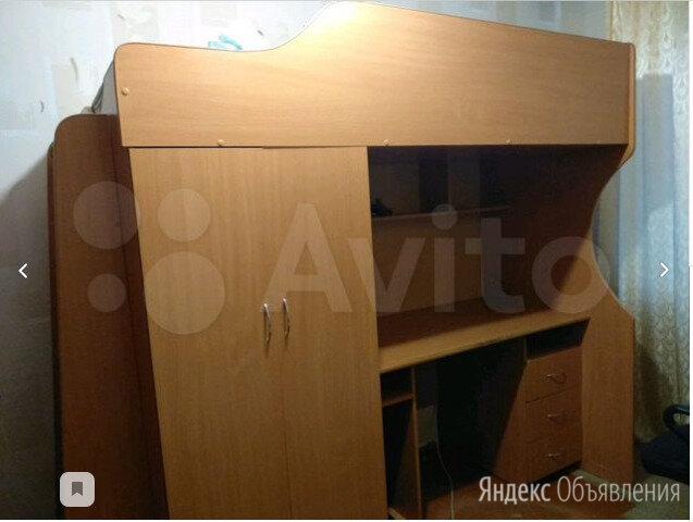 кровать со шкафом детская по цене 6000₽ - Кроватки, фото 0