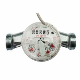 Элементы систем отопления - ETW-N dy 15 счетчик горячей воды, 0