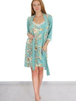 Домашняя одежда - комплект \халат+сорочка\ новый , 0