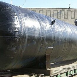 Оборудование для АЗС - Ёмкость подземная промышленная, б/у,  51 куб, 0