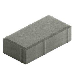 Тротуарная плитка, бордюр - Тротуарная плитка Брусчатка 200х100х60, 0