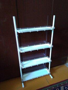 Стеллажи и этажерки - Стеллаж Кедр на ножках для цветов (ширина 64 см.), 0