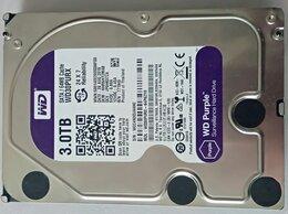 Внутренние жесткие диски - Жесткий диск Western Digital Purple 3 Тб WD30purx, 0