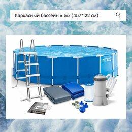 Бассейны - Каркасный бассейн intex (457см x 122см), 0